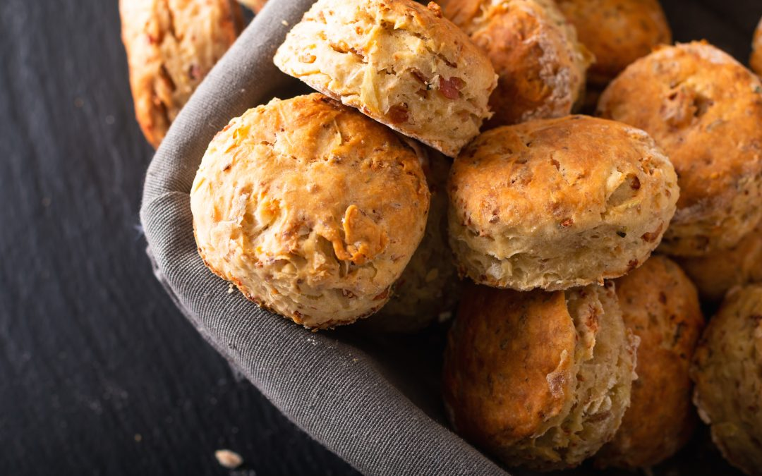 Spinneyfields Cheesey Bacon Scones