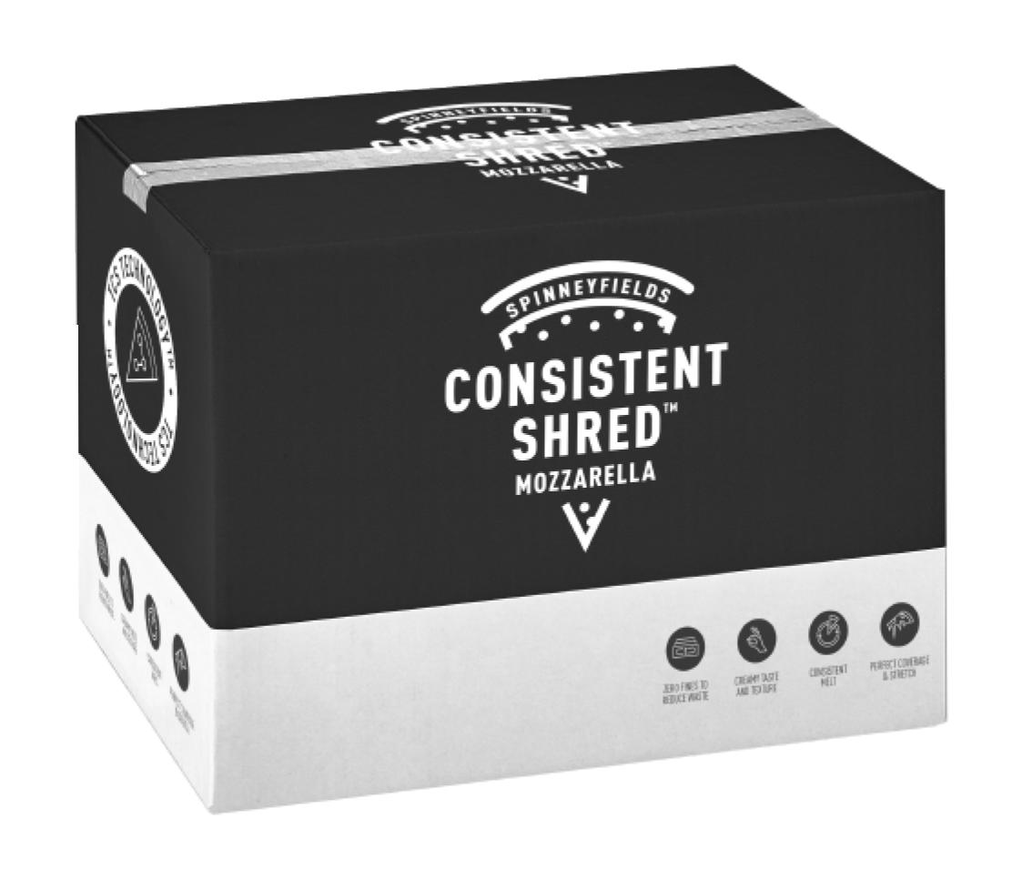 Mozzarella Consistent Shred