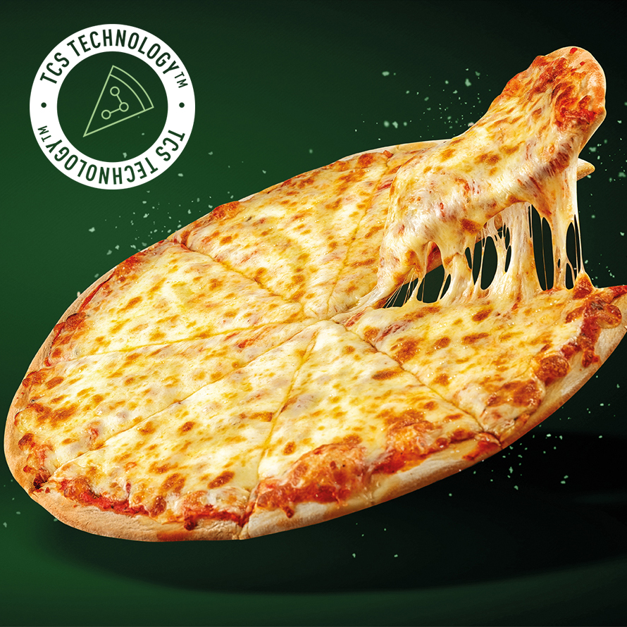 pizza shred green